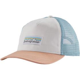 Patagonia Pastel P-6 Label Layback Trucker Hat Women white